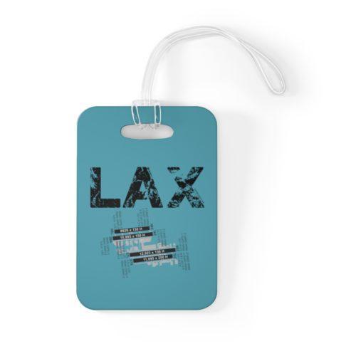 LAX Los Angeles International Airport Bag Tag